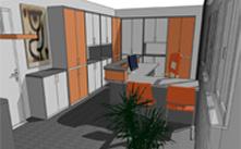 3D návrhy interiéru